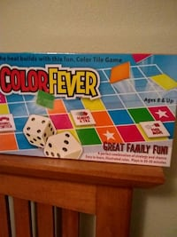 Color Fever Great Family Fun color tile game box Seattle, 98115