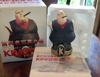 COLLECTIBLE KINGPIN STATUE NUMBERED IN BOX  Wood-Ridge, 07075
