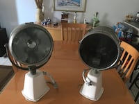 Ray-Line Marine Searchlight by Jabsco Both are motorized and can be controlled from the bridge. These are high powered search lights. Rotates and tilts 2 beam intensities.These lights were working when they were removed. Have been restored and needs very  Pembroke Pines, 33026