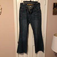 Hydraulic Jeans, Size 16W Humble, 77338