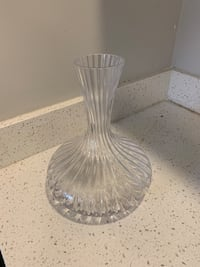 Wine decanter glass