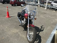 black and red cruiser motorcycle Alexandria, 22310