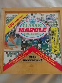 classic marble collection wooden box Los Angeles, 91335