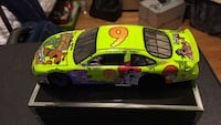 NASCAR #9 scale model car. Missing rear wheels, but can be attached. It's really puffy. Baltimore, 21206