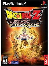 Dragon Ball Z Budokai Tenkaichi for PS2 Cypress, 90630