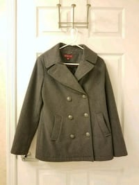 Women's Grey Wool Jacket Size M Rockville, 20852