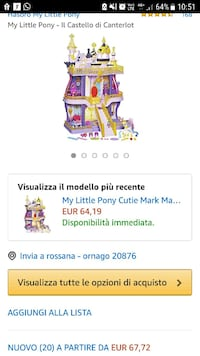 Castello my little pony Ornago, 20876