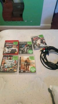 Ps3 games and cord