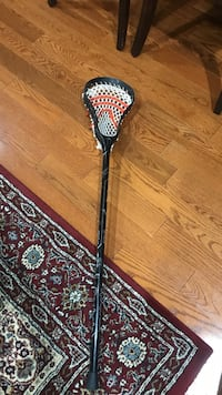 black and white lacrosse stick Springfield, 22152