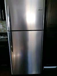 Frigidaire stainless steel Fridge  Edmonton, T6E 0G4