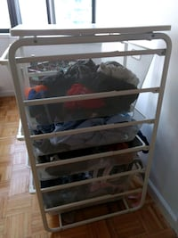 white ikea rack, Everything must go Jersey City, 07310