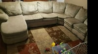 Lane sectional couch/hide-a-bed Abilene, 79603