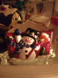 All types of Christmas candel holders and cool to  827 mi