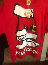 New with Tags Snoopy Santa shirt.  Size Small Collinsville, 62234