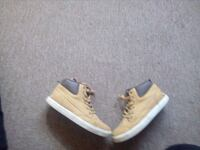 pair of brown low top sneakers Greater Landover, 20785