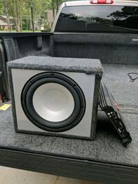 Infinity sub woofer and amp Vineland, 08361