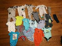 baby's assorted clothes Calgary, T3K 4M2