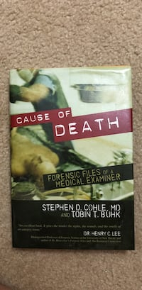 Cause of death by stephen d. cohle and tobin t. buhk book