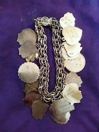 Vintage sterling silver charm bracelet with charms Mobile, 36608