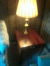 brown wooden table with two chairs Nashville, 37216