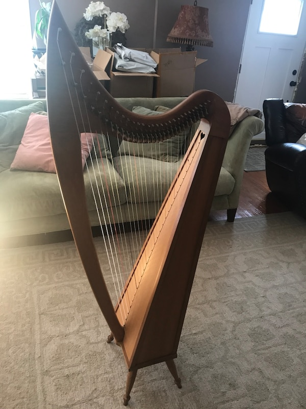 Used 29 String Grand Harp for sale in Pawling - letgo