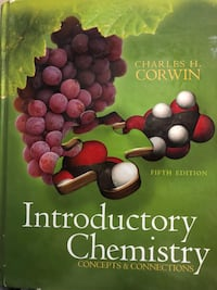Chemistry book( introductory collage) Woodbridge, 22193
