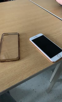 IPhone 8 with a charger and case Brampton, L6T 1W4