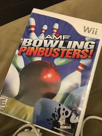Amf bowling pinbusters Wii video game Chicago, 60630