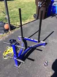 Blue and black exercise equipment Clarksburg, 20871