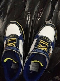 pair of blue-and-white low top sneakers Dartmouth, B2X 3S9