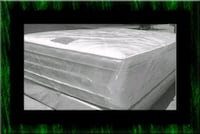"""Full 16""""double pillowtop mattress with box spring Laurel"""