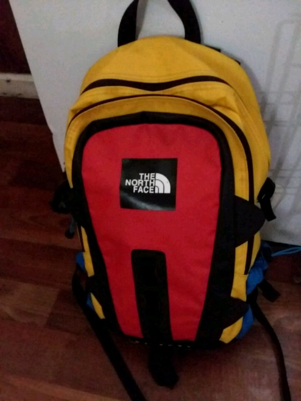 Used red and black Jansport backpack for sale in Atlanta - letgo 86c1ed7c322cb