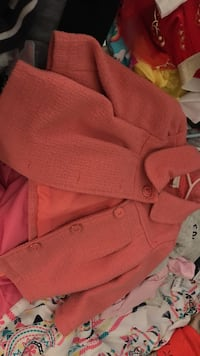 Coral button up coat Los Angeles, 91607