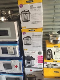 Microwave ovens $100-$150 pressure cooker $65 East Point, 30344