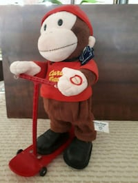 Curious George animated toy. Whitby, L1P 1A2