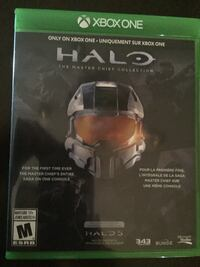 Halo Xbox One game case Edmonton, T6L 1Z3