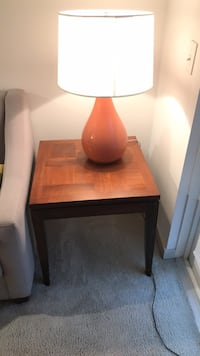 End table and lamp Gaithersburg, 20878