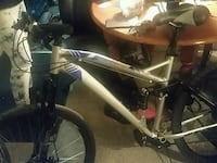 Blue and grey mountain bike Winnipeg, R3A 0K2