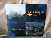 Very Collectable Aladdin Casino Mouse Pad Las Vegas