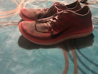 pair of red Nike running shoes Oxnard, 93033