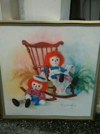 Vintage Raggedy Ann and Andy Painting Houston, 77061