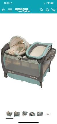 Graco Pack 'n Play Playard with Cuddle Cove Rocking Seat, Winslet Fulton, 20759
