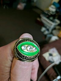 Green Bay Packers 1966/67 World Championship Ring North Platte, 69101
