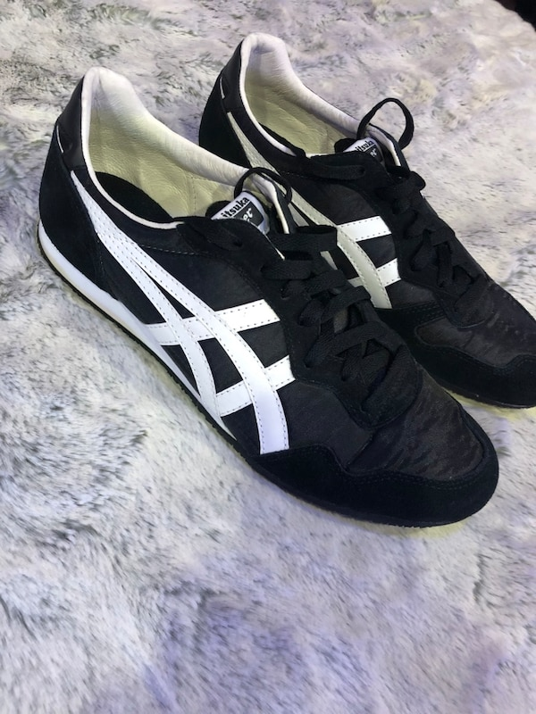 a83241d27e3ca Used ASICS ONITSUKA Tiger Stripes Black White for sale in Vacaville ...