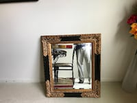 Large framed mirror, expensive BURKE