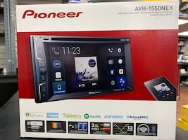 Pioneer apple CarPlay stereo WITH INSTALLATION. YouTube mirror