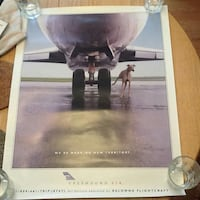 Rare greyhound air poster Ontario, K0L 2W0