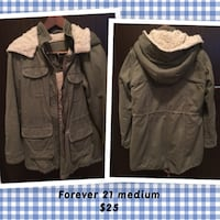 two brown and gray zip-up jackets Richmond, V6X 4C7