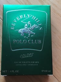 Beverly hills polo club colors eau de toilette for men 100 ml box Vancouver, V6Z 6J7