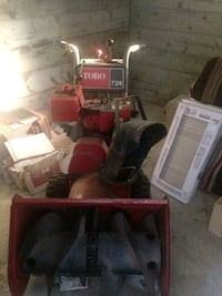 red and black Craftsman riding mower Montréal, H4N 3C5